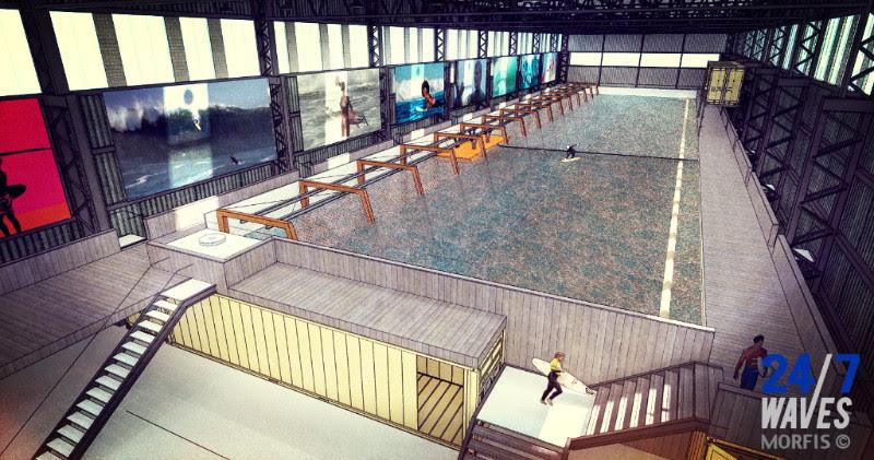 Eerste indoor wavepool van Europa op Haagse Binckhorst