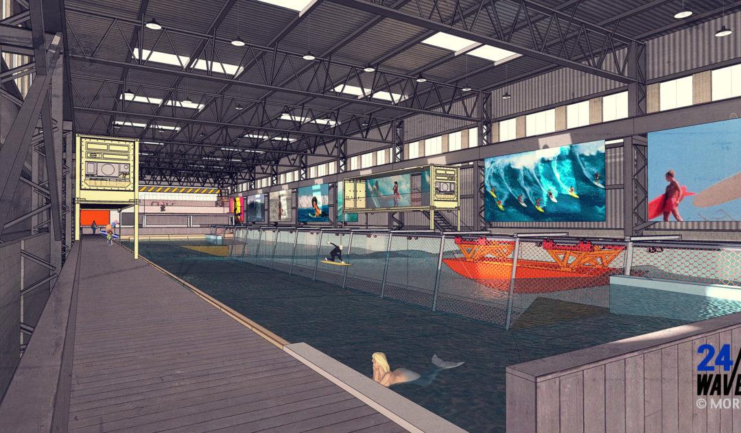 Persbericht: De eerste Surfpoel ter wereld komt naar Nederland en heeft al €100.000 aan surf uren verkocht.