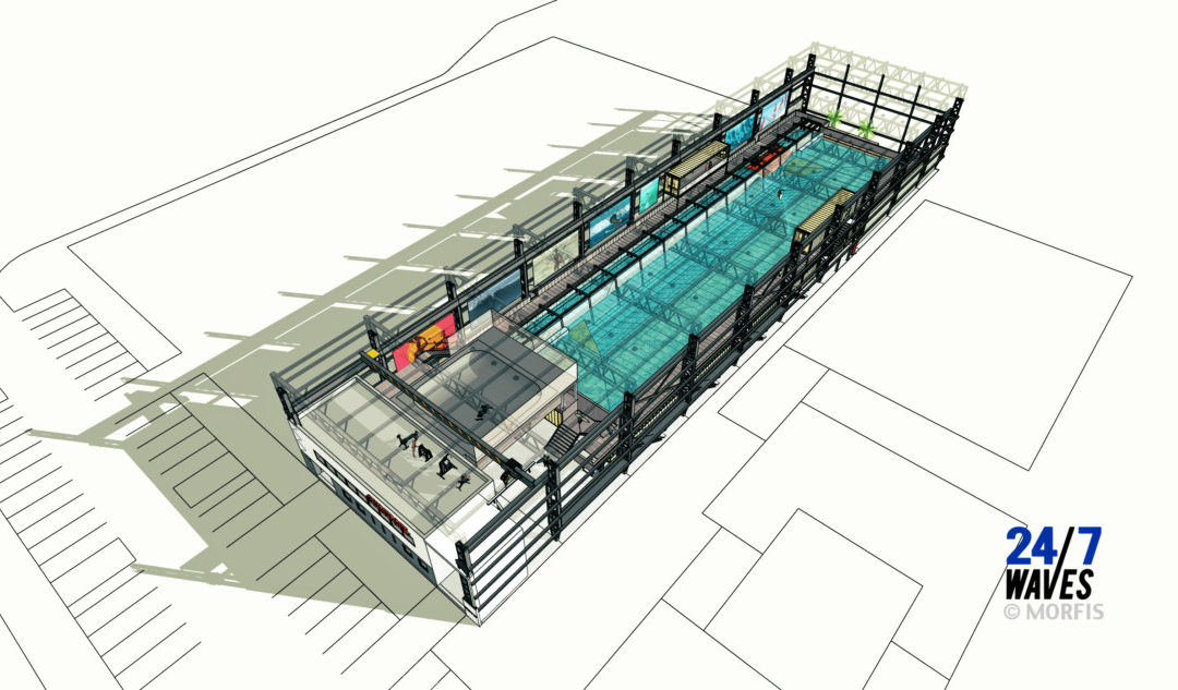 SurfPoel indoor wave pool will offer 3-to-4-foot rights and lefts in The Hague, Netherlands – Wavepoolmag